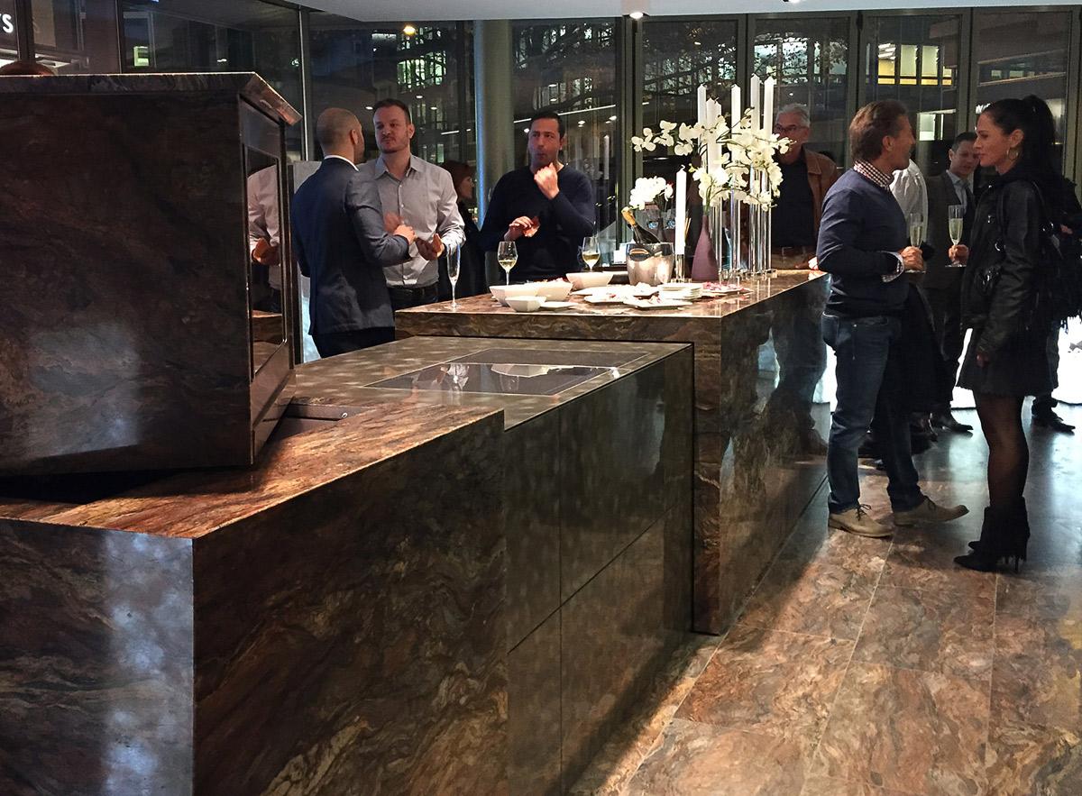 Tm Italia Cucine : Living design parma cucine in pietra nasce quinto elemento